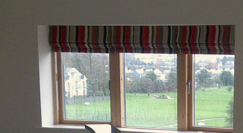 Silver River Roman Blinds
