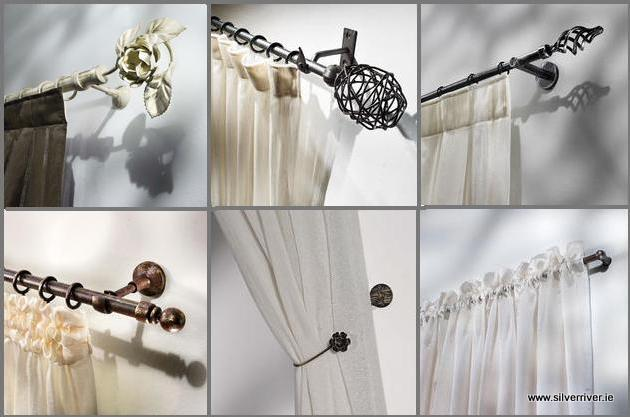 new italian curtain pole range now available. Black Bedroom Furniture Sets. Home Design Ideas