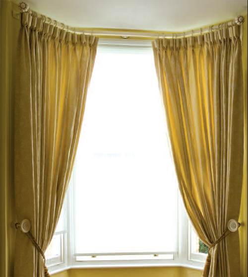 How to how to measure windows for curtains : Bay Window: How Do You Measure A Bay Window For Curtains